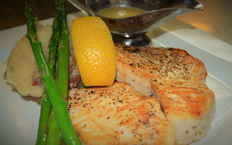 Sword Fish Dinner